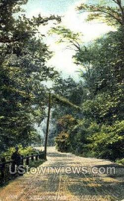 Wissahickon Drive - Philadelphia, Pennsylvania PA Postcard