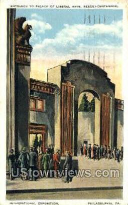 Palace of Liberal Arts - Philadelphia, Pennsylvania PA Postcard