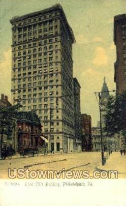 Land Title Bldg. - Philadelphia, Pennsylvania PA Postcard
