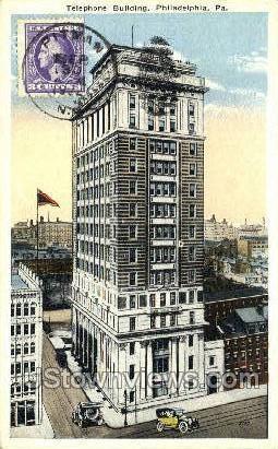 Telephone Bldg - Philadelphia, Pennsylvania PA Postcard