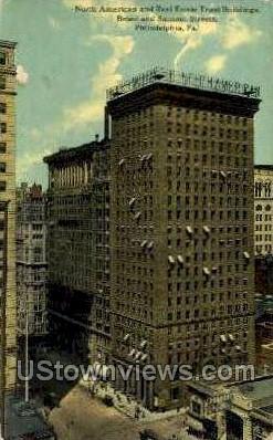 Real Estate Trust Bldg - Philadelphia, Pennsylvania PA Postcard