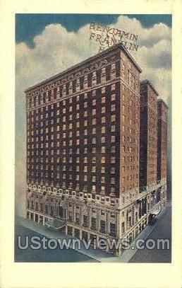 Benjamin Franklin Hotel - Philadelphia, Pennsylvania PA Postcard
