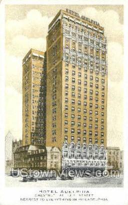 Hotel Adelphia - Philadelphia, Pennsylvania PA Postcard