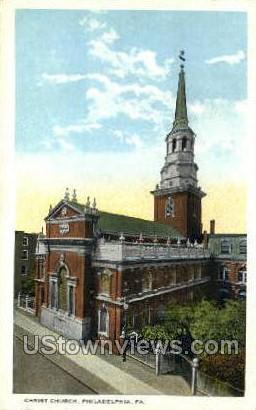 Chirst Church - Philadelphia, Pennsylvania PA Postcard