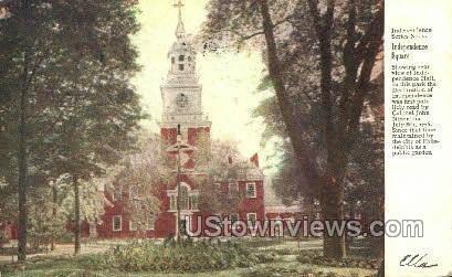 Independence Square - Philadelphia, Pennsylvania PA Postcard