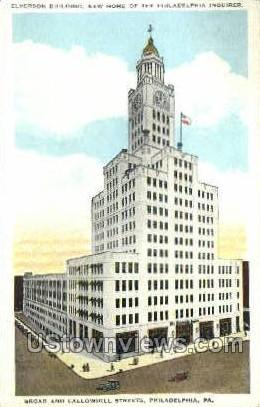 Elverson Bldg - Philadelphia, Pennsylvania PA Postcard