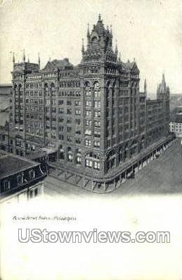 Broad Street Station - Philadelphia, Pennsylvania PA Postcard