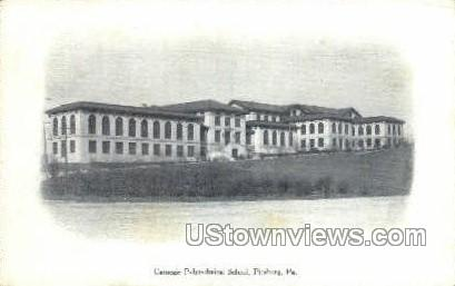 Carnegie Polytechnical School - Pittsburgh, Pennsylvania PA Postcard