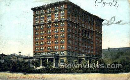 Schenley Hotel - Pittsburgh, Pennsylvania PA Postcard
