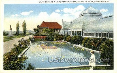 Phipps Conservatory Schenley Park - Pittsburgh, Pennsylvania PA Postcard