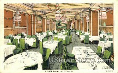Mirror Room, Hotel Henry - Pittsburgh, Pennsylvania PA Postcard