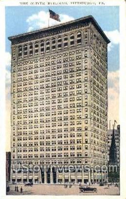 The Oliver Bldg - Pittsburgh, Pennsylvania PA Postcard