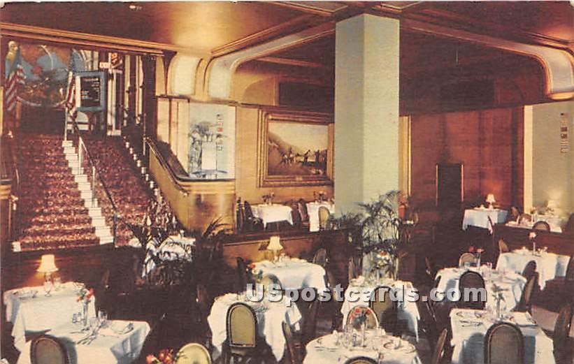 Kugler's Chestnut St Restaurant - Philadelphia, Pennsylvania PA Postcard