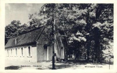 Donegal Church - Misc, Pennsylvania PA Postcard
