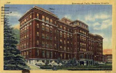 Conemaugh Valley Memorial Hospital - Johnstown, Pennsylvania PA Postcard