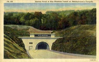 Eastern Portal of Blue Mtn. Tunnel - Misc, Pennsylvania PA Postcard