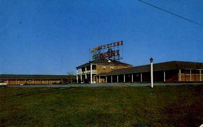 Keystone Motel - Harrisburg, Pennsylvania PA Postcard