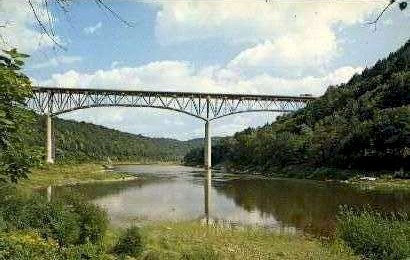 Interstate 80 Bridge - Emlenton, Pennsylvania PA Postcard