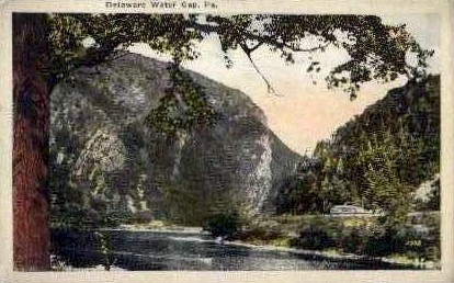 Delaware Water Gap, Pennsylvania, PA Postcard