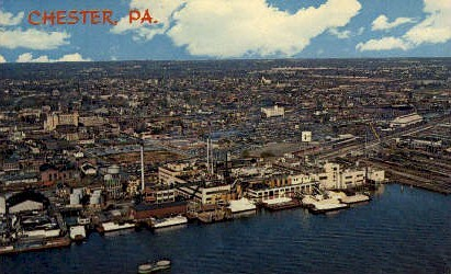 Chester, Pennsylvania, PA Postcard