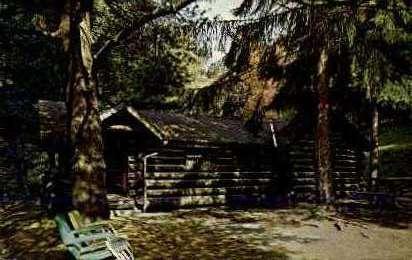 Cabins - Misc, Pennsylvania PA Postcard