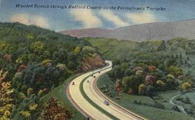 Pennsylvania Turnpike - Misc Postcard
