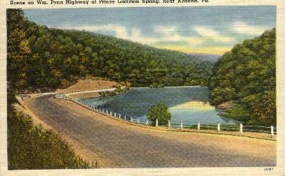 Wm. Penn Highway  - Altoona, Pennsylvania PA Postcard