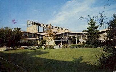 George Washington Motor Lodge - Allentown, Pennsylvania PA Postcard