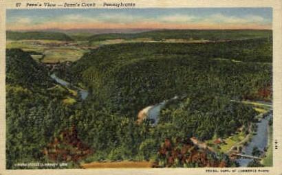Penn's Creek  - Misc, Pennsylvania PA Postcard