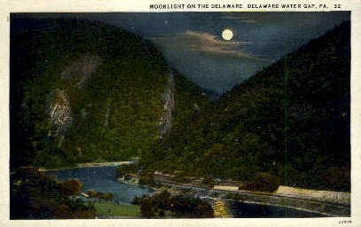 . - Delaware Water Gap, Pennsylvania PA Postcard
