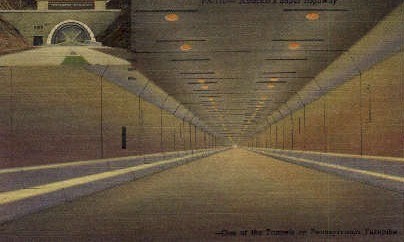One of the Tunnels  - Misc, Pennsylvania PA Postcard