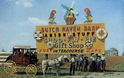 Dutch Haven Barn  - Misc, Pennsylvania PA Postcard