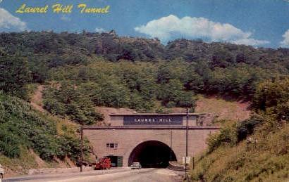 Lavrel Hill Tunnel - Misc, Pennsylvania PA Postcard