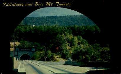 Kittatinny and Blue Mt. Tunnels  - Misc, Pennsylvania PA Postcard