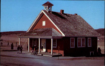 Amish One-Room School - Misc, Pennsylvania PA Postcard