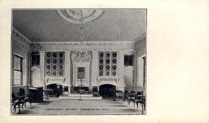 Independence Chamber  - Misc, Pennsylvania PA Postcard