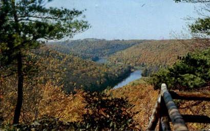 Seneca Point  - Cook Forest State Park, Pennsylvania PA Postcard
