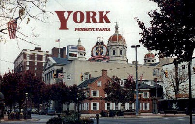 York , Pennsylvania, PA Postcard