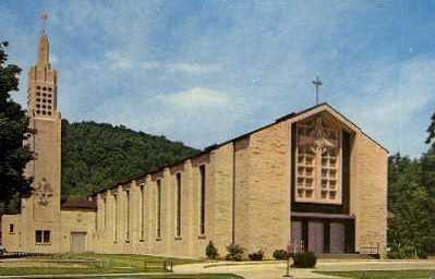 St. Joseph's Church  - Warren, Pennsylvania PA Postcard