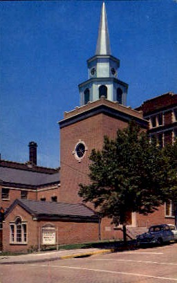 Baptist Church  - Wilkes-Barre, Pennsylvania PA Postcard