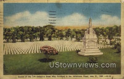 Johnstown Flood, May 1889 - Pennsylvania PA Postcard