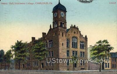 Denny Hall, Dickinson College - Carlisle, Pennsylvania PA Postcard