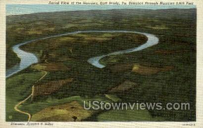 The Narrows - Brady, Pennsylvania PA Postcard