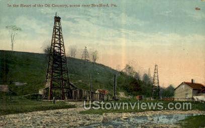 Oil Country - Bradford, Pennsylvania PA Postcard