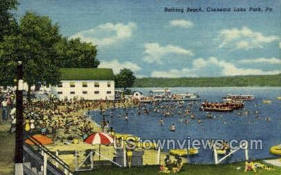 Conneaut Lake Park, Pennsylvania, PA, Postcard