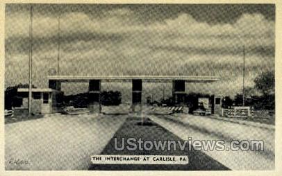 Interchange - Carlisle, Pennsylvania PA Postcard