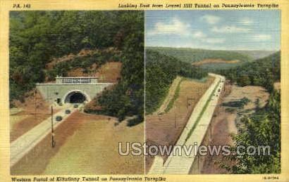 Laurel Hill Tunnel - Turnpike, Pennsylvania PA Postcard