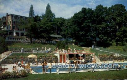 Glenwood Hotel - Delaware Water Gap, Pennsylvania PA Postcard