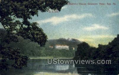 Kittatinny House - Delaware Water Gap, Pennsylvania PA Postcard