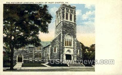 Methodist Episcopal Church - Chester, Pennsylvania PA Postcard